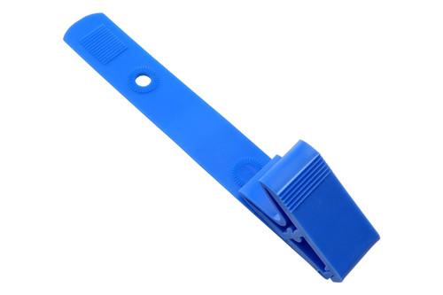 2115-200X Color Plastic Strap Clip w/ Knurled Thumb-Grip - QTY. 100