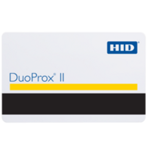HID DuoProx II Graphics Quality PVC, Proximity Access Card with Hi/Co Mag Stripe - 1336 / 1536 (Qty. 100)