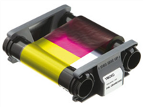 Evolis CBGR0100C Color Ribbon - YMCKO - 100 prints