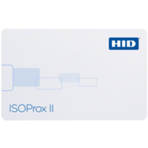 HID ISOProx II Graphics Quality PVC, Proximity Access Card - 1386 / 1586 (Qty. 100)