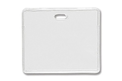 "1840-5010 Vinyl Horizontal Proximity Card Holder, 3.6"" x 2.5"" - Qty. 100"