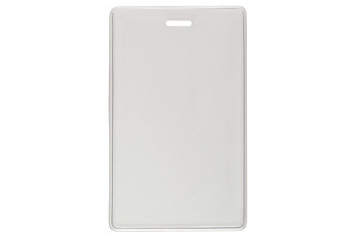 "1840-5050 Vinyl Vertical Proximity Card Holder, 2.38"" x 3.75"""