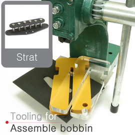 Strat style bobbin tooling