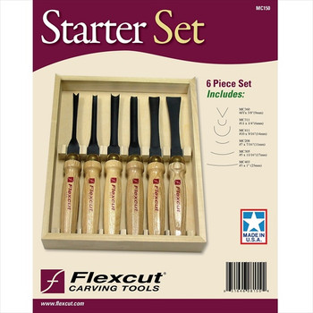 Flexcut MC150 6pc Starter Set