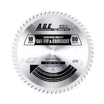 "Amana MD10-800C 10"" x 80t ATB Crosscut Blade 5/8 Bore"