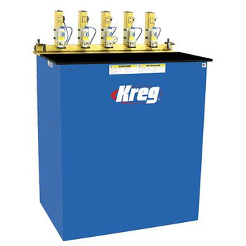 Kreg 5-Spindle Pneumatic Pocket Hole Machine
