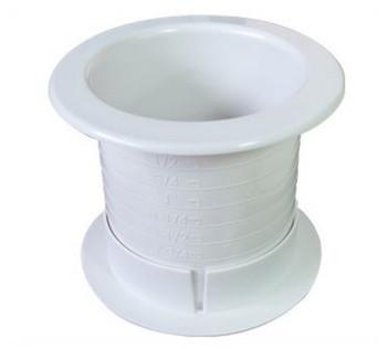 """Fastcap Grommet 2.5"""" White 2-Sided"""