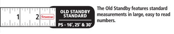 Fastcap Tape 16' Old Standby Flatback