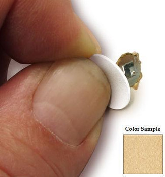 Fastcap 9/16 Clear Maple PVC Cover Caps 265pk