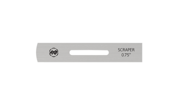 Stuart Batty 3/4 inch Domed/Straight Conventional Scraper Blade