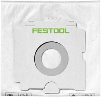 Festool 496187 SELFCLEAN filter bag 5x, CT26