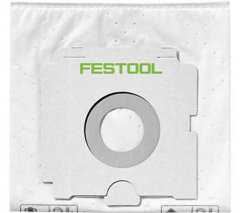 Festool 500438 CT-SYS Filter Bags, 5-Pack