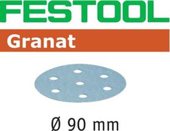 Festool Granat P100 Grit Abrasives for RO 90