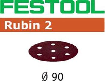 Festool Rubin P80 Grit Abrasives for RO 90