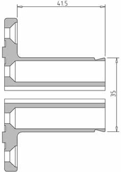 Vicmarc V00659 VM100 Pen Blank Jaw Dimensions