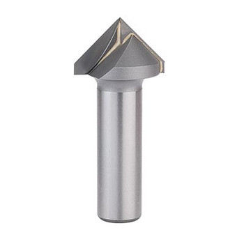 Whiteside 1506 1D 90 Degree V-Gooove Router Bit