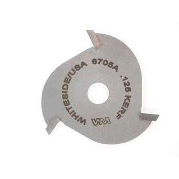 Whiteside 6705A 1/8 Kerf Slotting Cutter Blade