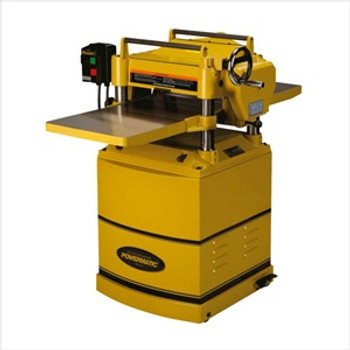 """Powermatic 15HH 15"""" Planer, with Byrd SHELIX Helical Cutterhead"""
