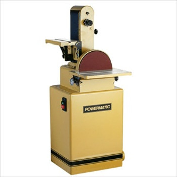 "Powermatic 31A 1-1/2HP Combo Sander, 6"" x 48"" Belt, 12"" Disc"