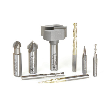 Amana AMS-133 8-Pc Router Bit Set