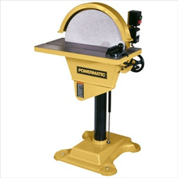 "Powermatic DS20, 3HP, 3PH 20"" Disc Sander"