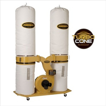 Powermatic PM1900TX-BK1 Dust Collector with 30-Micron Bag