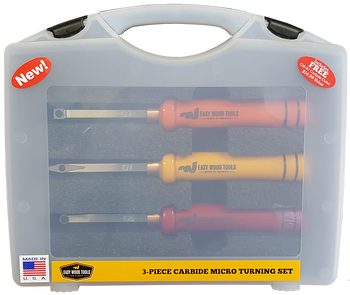 Easy Wood Tools 3 Piece Micro Tools Set