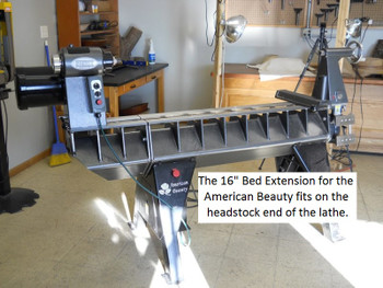"Robust 16"" Bed Extension for American Beauty"