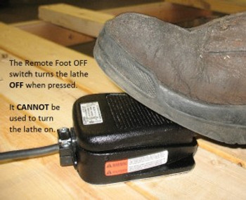 "Robust Remote ""Off"" Foot Switch"