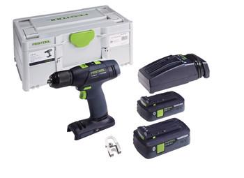 Festool Cordless Drill T18 + 3-E Plus