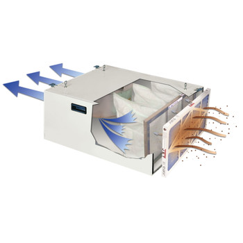 Jet 708620B AFS-1000B 1000CFM Air Filter with Remote Control