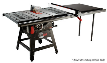 "Sawstop Contractor Tablesaw 1.75HP with 52"" Pro T-Glide Fence System"