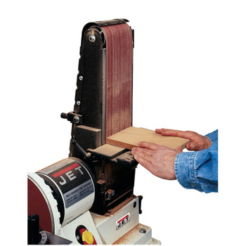 "Jet 708597K JSG-96CS Closed Stand Sander, 6"" x 48"" Belt / 9"" Disc"