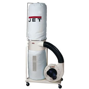 DC-1100VX-BK Dust Collector, 1.5HP 1PH 115/230V, 30-Micron Bag Filter Kit
