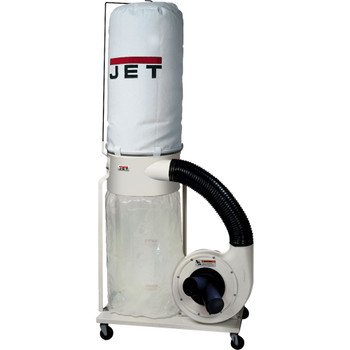 Jet DC-1100VX-5M Vortex Dust Collector 1.5HP 5-Micron Bag