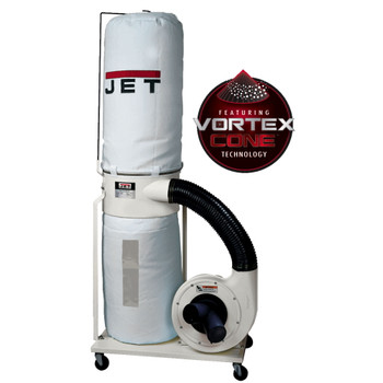 Jet DC-1200VX-BK3 Vortex Dust Collector 2HP 30-Micron Bag
