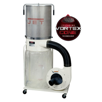 Jet DC-1200VX-CK3 Vortex Dust Collector 2HP 2-Micron Canister