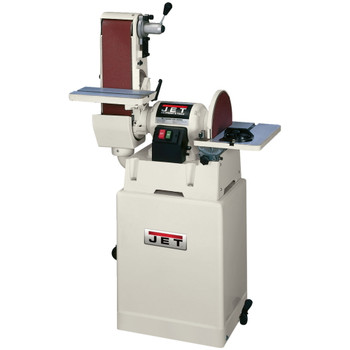 "Jet JSG-6CS Closed Stand Sander, 6"" x 48"" Belt / 12"" Disc"
