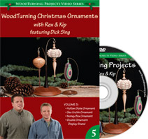 woodturning videos this month DVD Woodturning Christmas Ornaments With Kip An Rex Volume 5