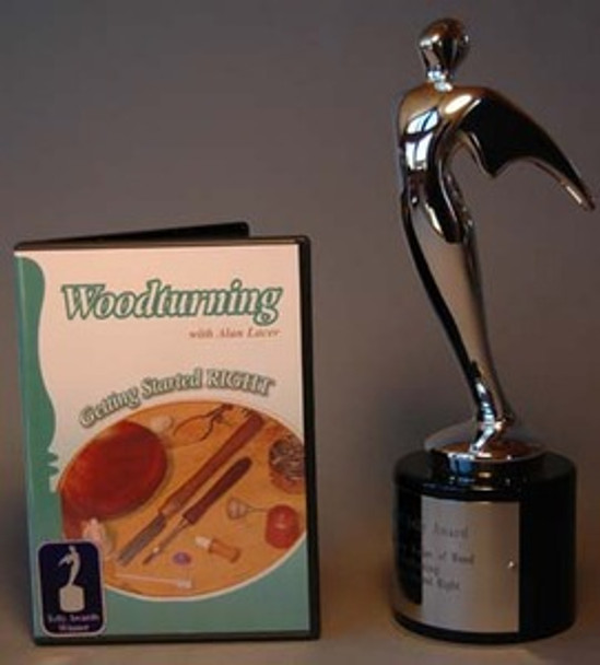 DVD Woodturning With Alan Lacer