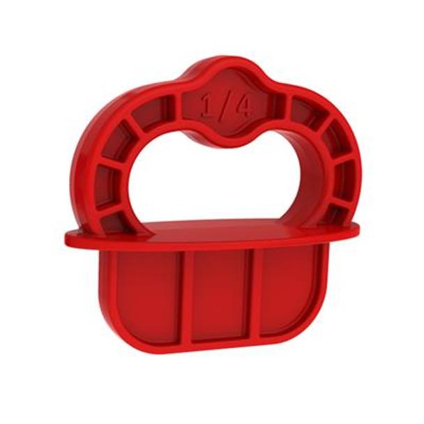 Kreg Deck Jig Spacer Rings - Red - 1/4
