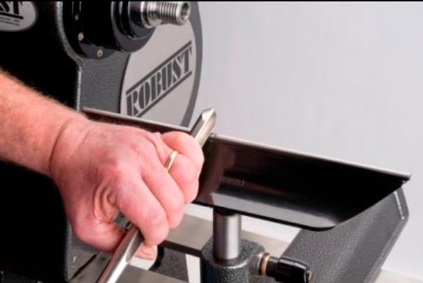 "Robust 9"" Comfort Tool Rest 1"" Post"