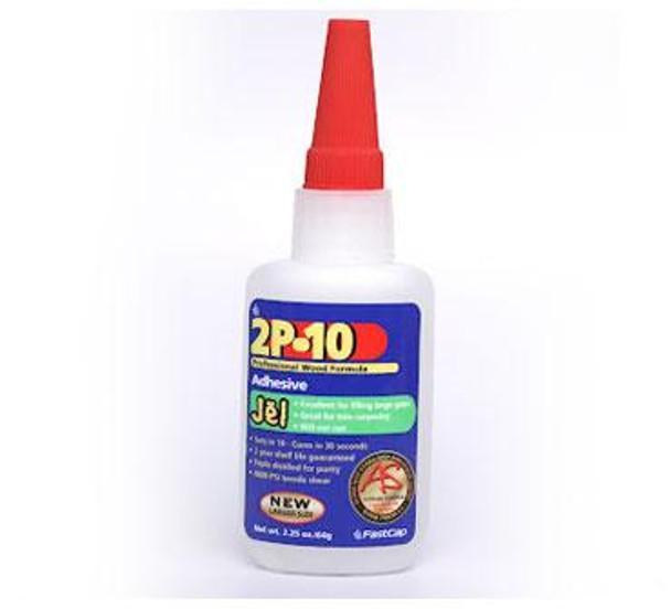 Fastcap 2P-10 Jel CA Glue 2.25 Oz