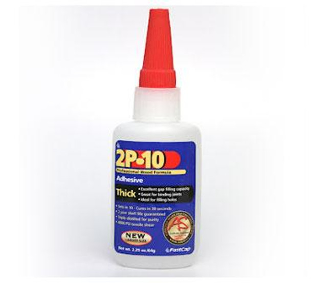 Fastcap 2P-10 Thick CA Glue 2.25 Oz