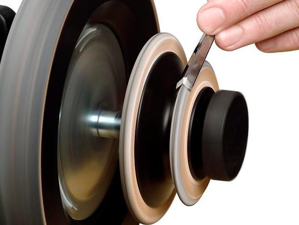 Tormek LA-120 Profiled Leather Honing Wheel