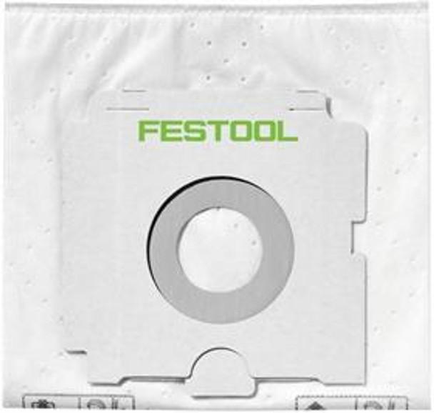 Festool 496186 SELFCLEAN filter bag 5x, CT36