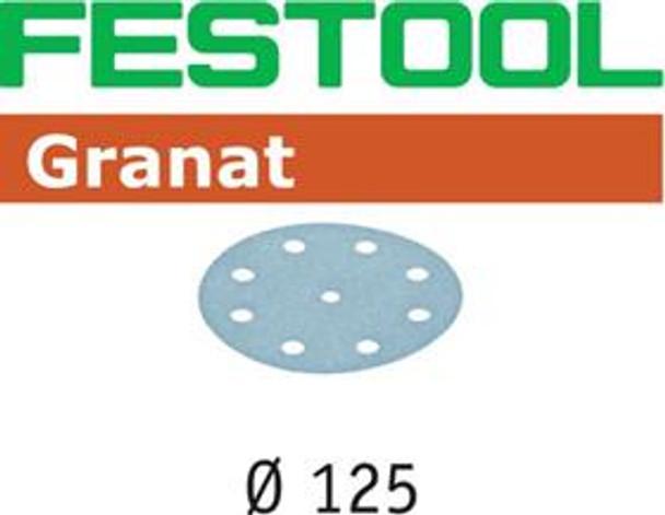 "Festool Granat P400 Grit Abrasives for 5"" (125mm) Sanders"