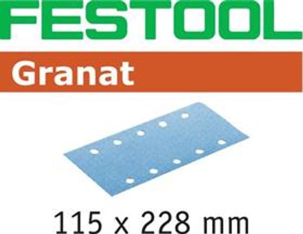 Festool Granat P80 Grit Abrasives for RS 2 E Sander