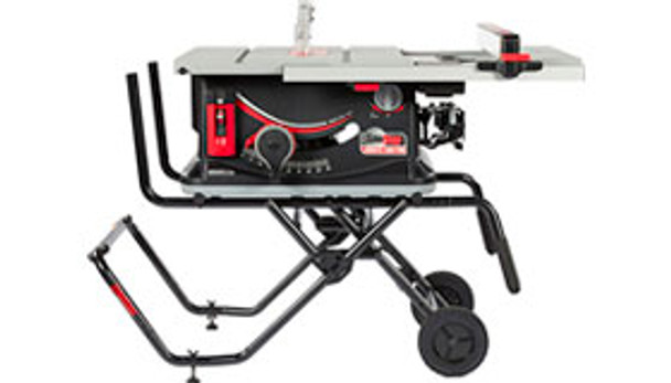 JOBSITE SAW PRO Upgrades include Deeper Table, Active Dust Collection Blade Guard, & T-Glide High/Low Fence
