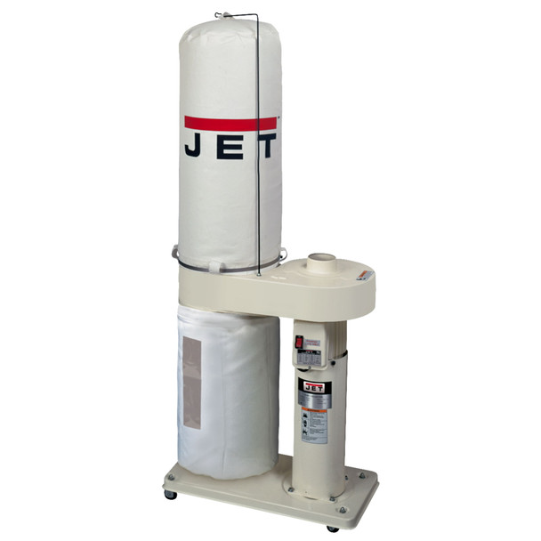 Jet DC-650 1HP 650CFM Dust Collector with 30 Micron Bag